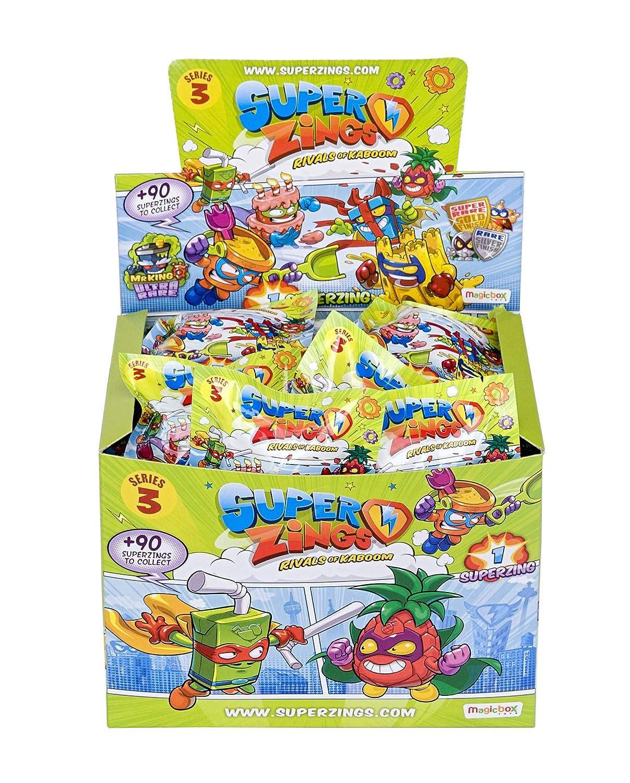 Caja con 50 figuras Serie 3 Superzings