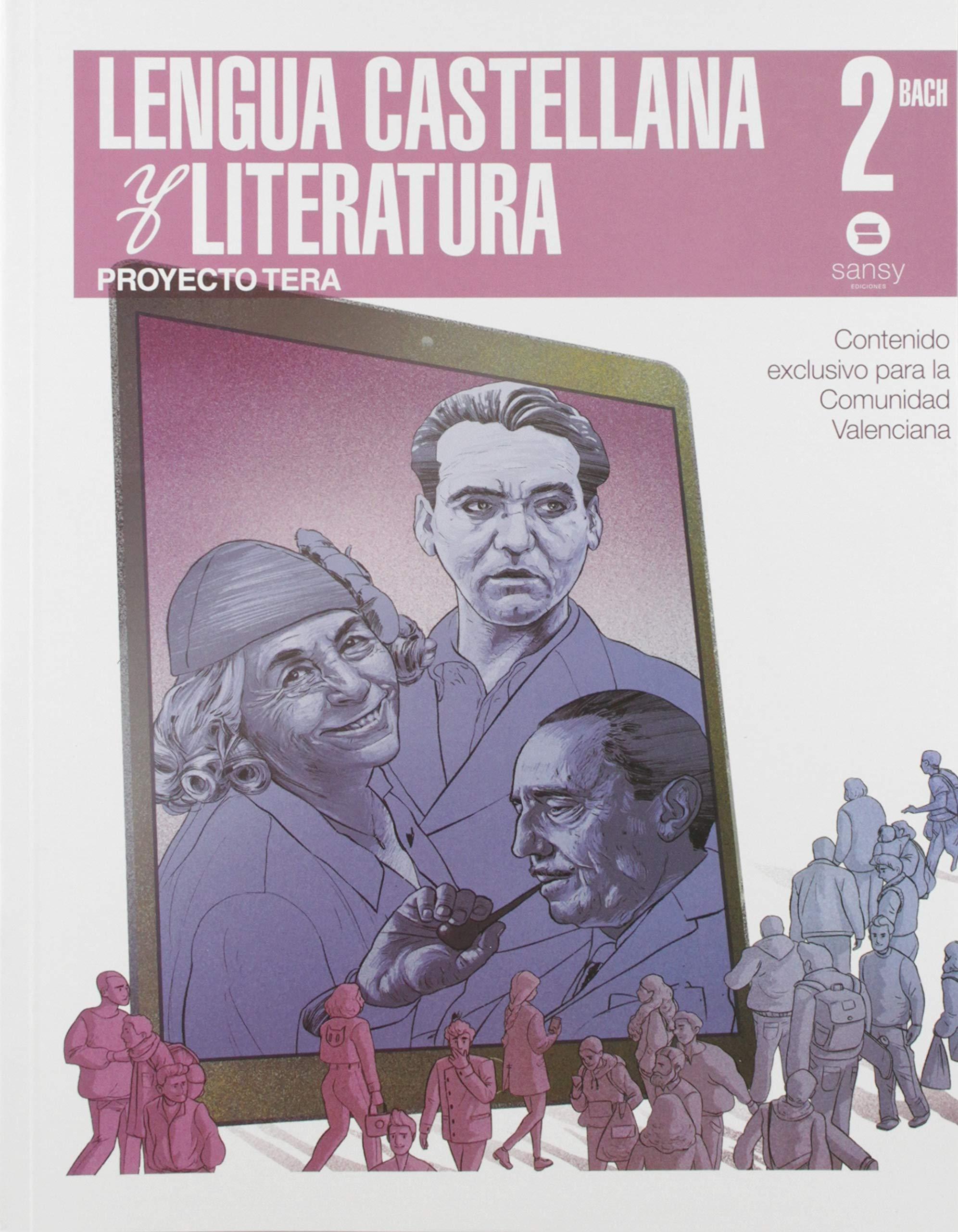 LENGUA CASTELLANA Y LITERATURA 2º BACH TERA: Amazon.es: RICOS VIDAL, AMPARO, SANCHEZ PINILLA, FRANCISCA, ANTONIO MILLÓN, JUAN, PERÉZ LEAL, AGUSTÍN, TORREGROSA RAMÓN, JUAN: Libros