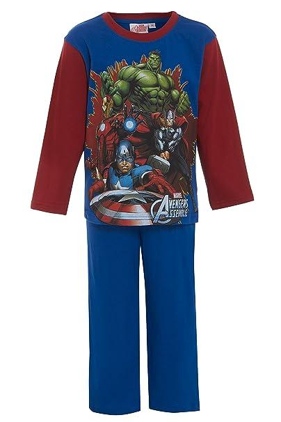 Marvel Avengers Hulk Iron Man Thor Spiderman Official Gift Kids Boys Pajamas
