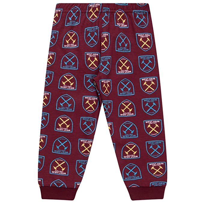 Amazon.com: West Ham United Fc - Pajamas para niños: Clothing