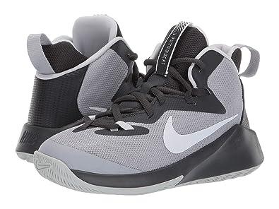 ce06e81c27144 Amazon.com | Nike AJ2615-002: Big Kids Wolf Grey/Anthracite/Platinum ...