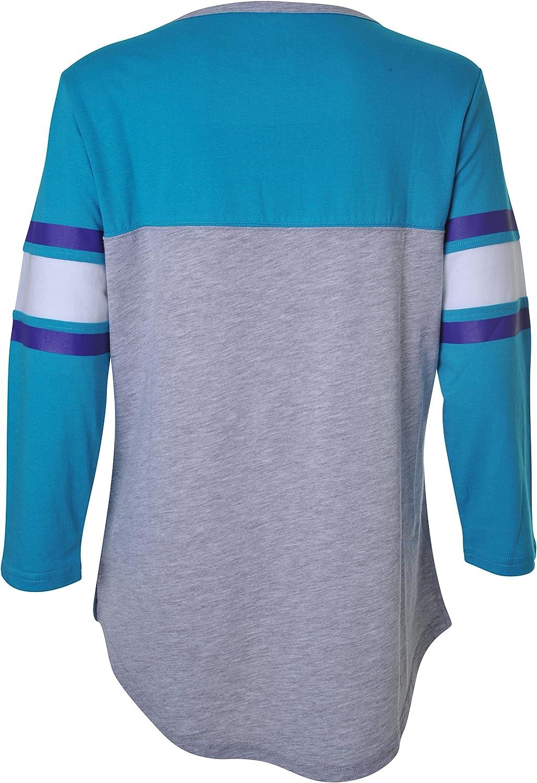 Ultra Game NBA Charlotte Hornets Womens Sleepwear Super Soft Hacci Pajama Loungewear Pants X-Large Heather Gray