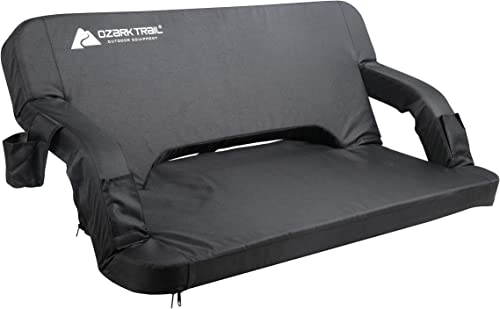 Ozark Trail Easy-Folding Padded Tailgating Couch