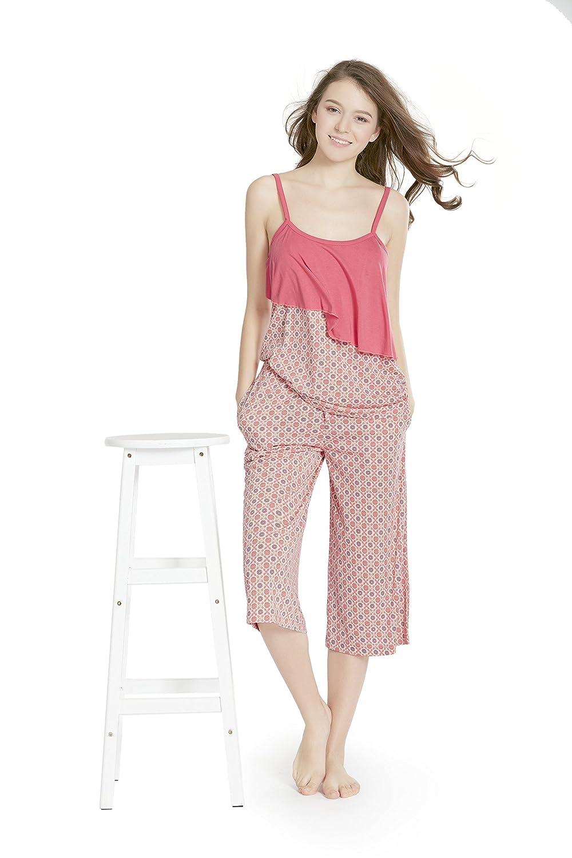 Sumbrell Camisole Capri Women Pjs Pajamas Set 0c52afef4
