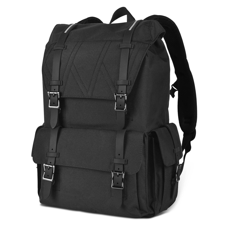 e0f7338692f1 chic LUXUR 37L Laptop Backpack Business Computer knapsack Oxford Tactical  Weekend Bag