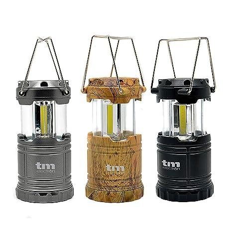 TM Electron TMTOR011KIT 3 linternas COB LED de Campamento ...