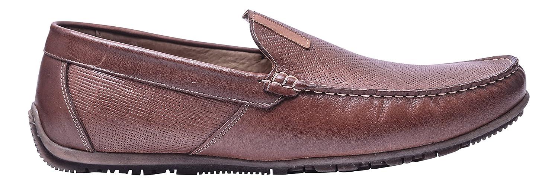 Vogar Mocasines Cuero Zapatos Verano Hombre VG5056 EU 43 / 29.3 cm|Coñac