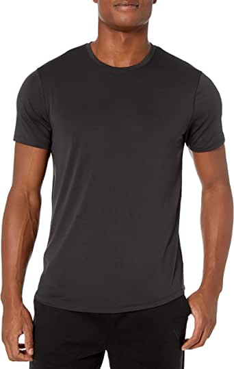 Amazon Brand - Peak Velocity Men's Smart Jersey Lightweight Crew Neck T-shirt
