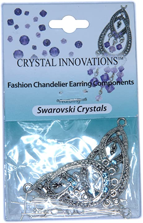 Amazon crystal innovations fashion sapphire blue chandelier crystal innovations fashion sapphire blue chandelier earring components mozeypictures Gallery