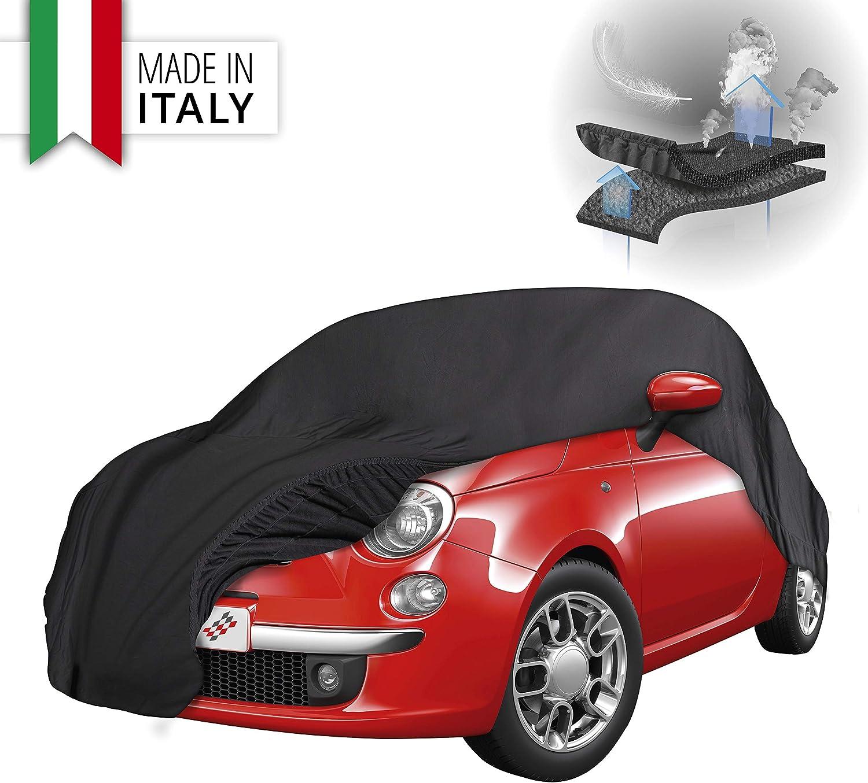 Walser Premium Autoplane Indoor Soft Atmungsaktive Vollgarage Innenanwendung Staubdichte Abdeckplane Überwinterung Autoschutzdecke Garage Auto