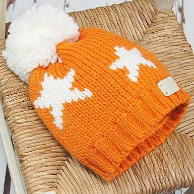 86e485e19 Blade & Rose Bobble Hat Orange Star 2-6 Years: Amazon.co.uk: Clothing