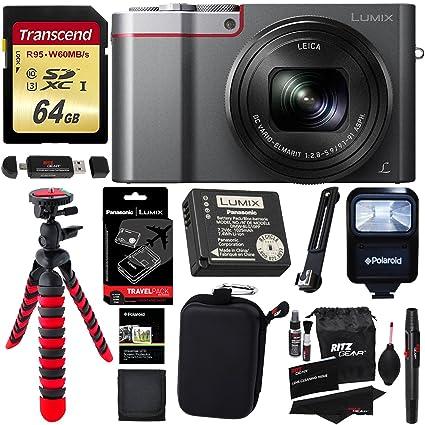 Panasonic ZS100 LUMIX 4K Digital Camera 20 Megapixel Sensor Silver DMW ZSTRV Lumix