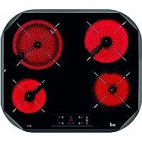 Teka TC6400 Integrado Cerámico Negro - Placa (Integrado