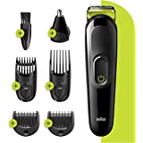 Braun Multi Grooming Kit MGK 3221, Beard Trimmer, Hair Cut Clipper for and Ear Nose Beard Attachment