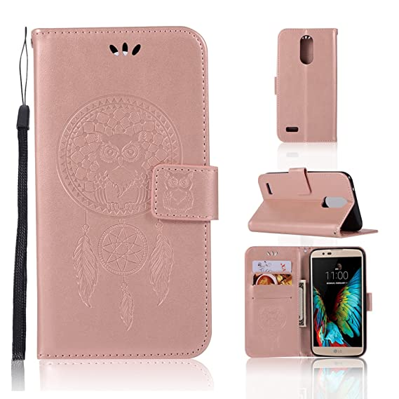 detailing f7629 7f53e LG Phoenix 3 M150 Case, LG Fortune M153 Case, LG K4 2017 Case, LG Risio 2  M154 Case, Mellonlu Premium PU Leather Flip Fold Wallet Case with [3 Card  ...