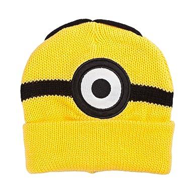 Amazon.com  Despicable Me Minions Steve One Eye Yellow Beanie  Clothing b09221a51bb1