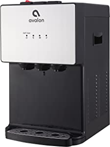 Avalon A12 Countertop Bottleless Water Dispenser, 3 Temperatures, Self Cleaning, Stainless Steel