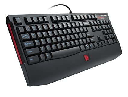 Amazon.com: Thermaltake eSports KNUCKER Plunger Gaming Keyboard (KB-KNK008US): Computers & Accessories