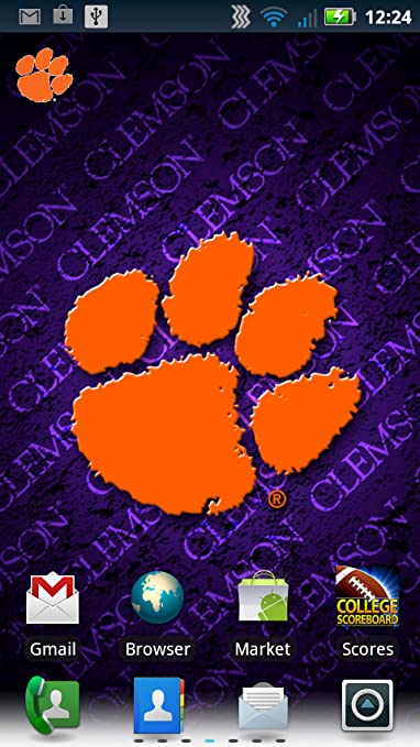 Amazoncom Clemson Tigers Revolving Wallpaper Appstore For Android