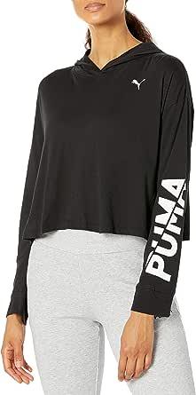 PUMA Women's Modern Sports Lightweight Hoodie, Black