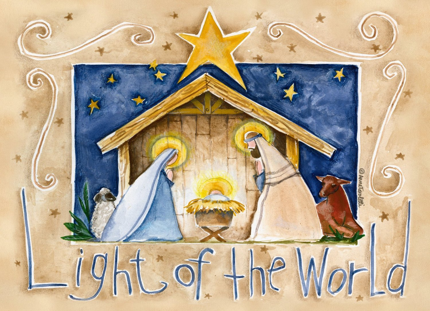 Legacy publishing group inc legacy of faith deluxe boxed christmas legacy publishing group inc legacy of faith deluxe boxed christmas cards with scripture light of the world 20 count lsb16358 amazon office kristyandbryce Image collections