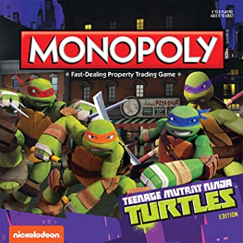 Monopoly: Teenage Mutant Ninja Turtles Collectors Edition ...