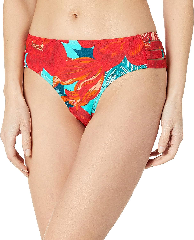 Body Glove Womens Nuevo Contempo Full Coverage Bikini Bottom Swimsuit Bikini Bottoms