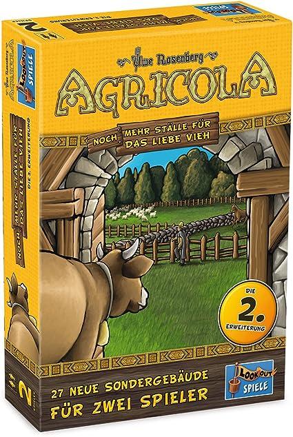 Lookout Games Look out 22160963 – Agricola 2 Personas – más ställe Amor para el Ganado, de Tablero Ampliación: Amazon.es: Juguetes y juegos