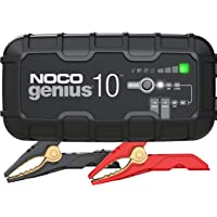 NOCO GENIUS10AU, 10-Amp Fully-Automatic Smart Charger, 6V and 12V Battery Charger, Battery Maintainer, and Battery…