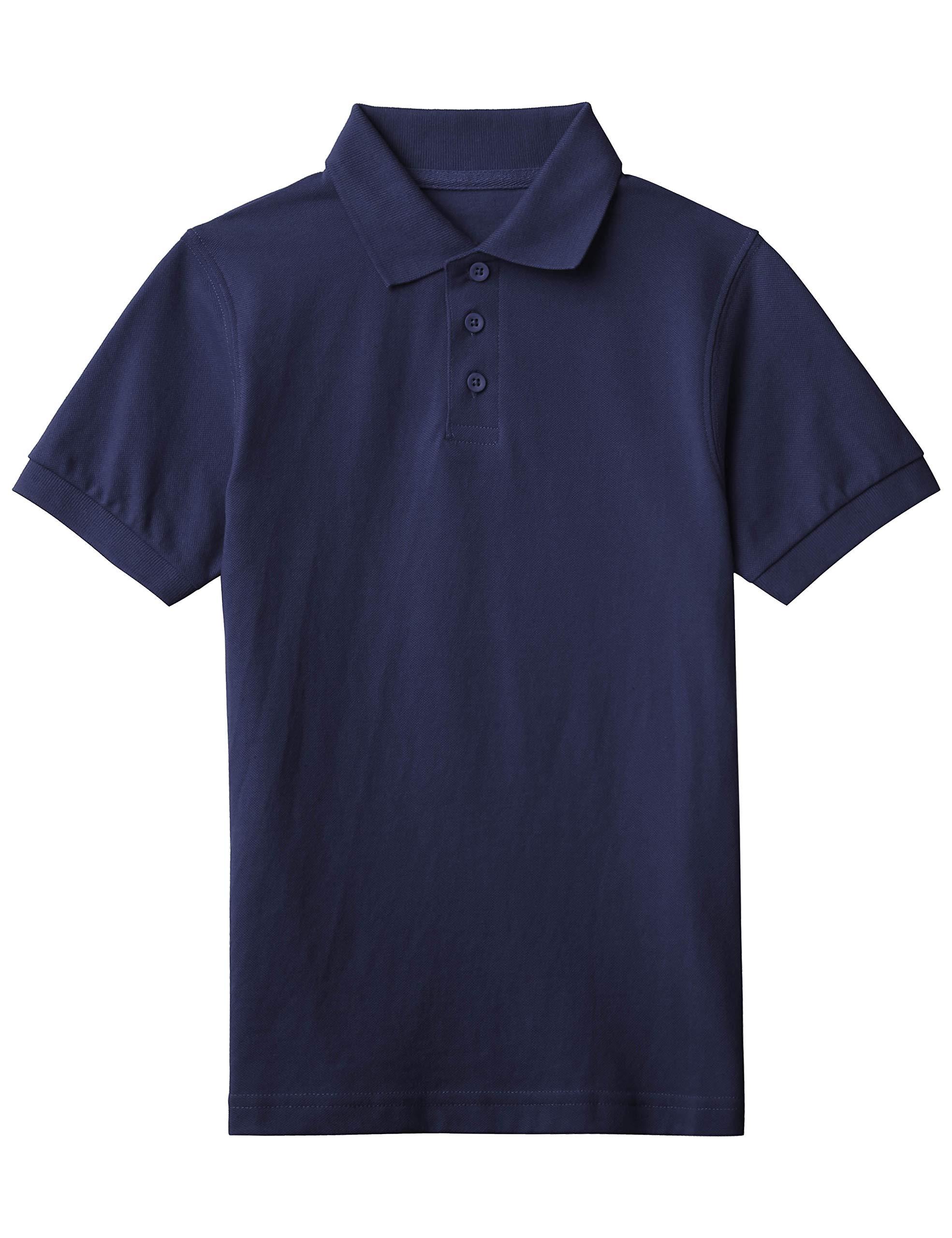 Ma Croix Kids Polo Solid Cotton Uniform