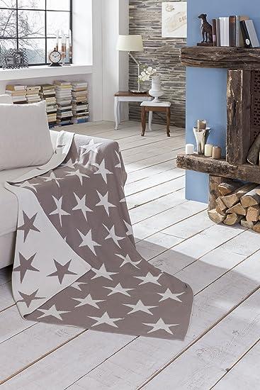 Decke Sterne kuscheldecke garu sterne sofadecke decke deko tagesdecke