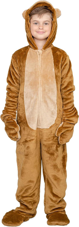 Child Monkey Flappy Suit Halloween Costume Jumpsuit