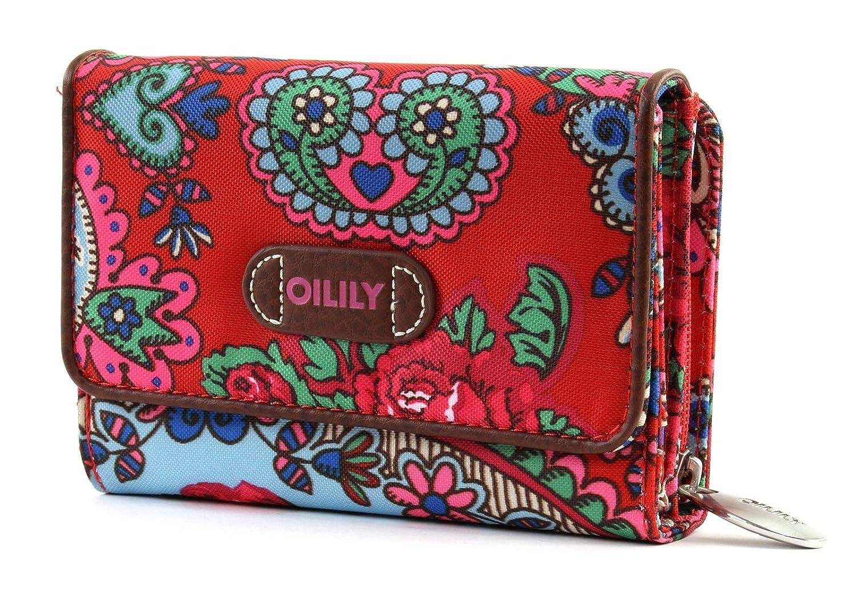 Oilily S Wallet Monedero Billetera Geldbeutel Travel Rojo Red