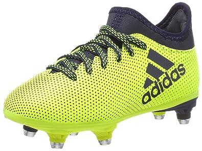 adidas Herren X 17.3 Sg Fußballschuhe, Schwarz: