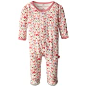 Magnificent Baby Baby-Girls Footie,Love Birds,0-3 Months