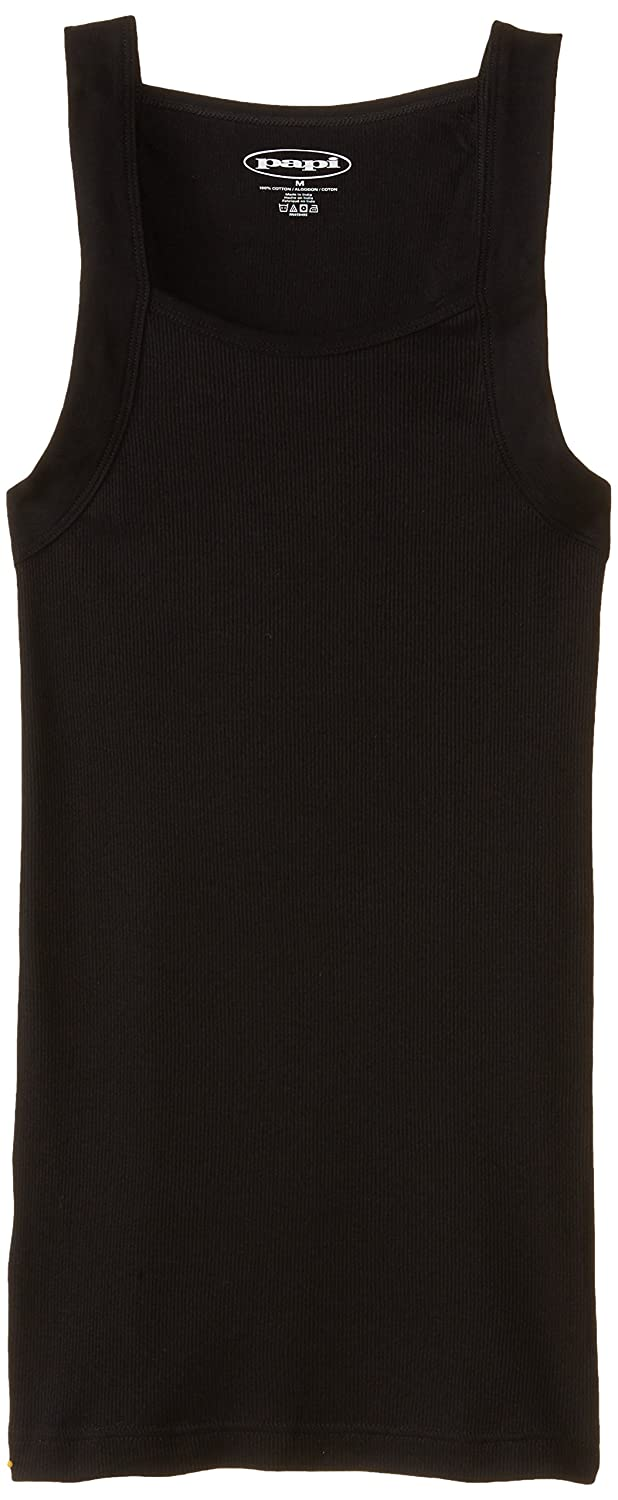 311d3e72902fc Amazon.com  papi Men s 3-Pack Cotton Square Neck Tank Top  Clothing