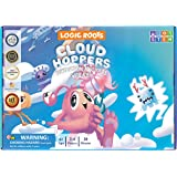 Logic Roots Cloud Hoppers Addition and Subtraction Game - Fun Math Board Game for 5 - 8 Year Olds, Easy to Play Educational G