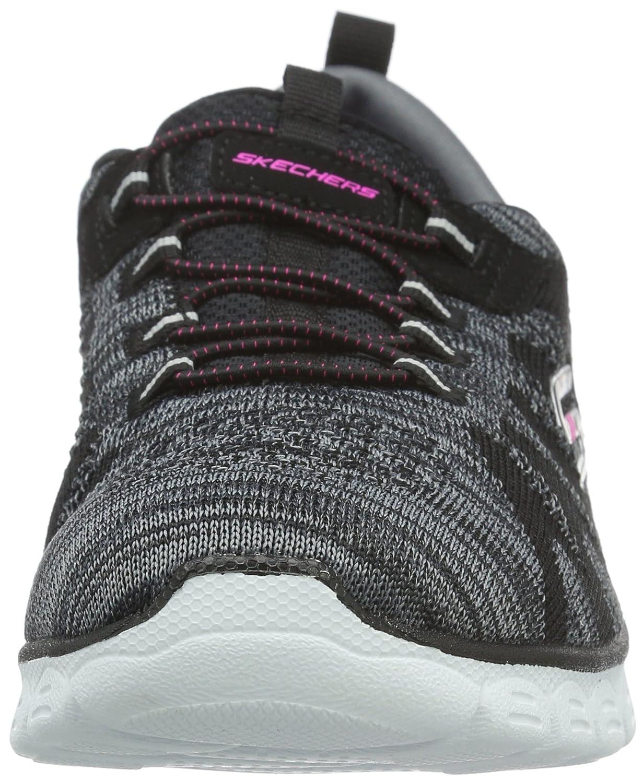 Skechers Women's Sport-Active Ez Flex 3.0 Take-The-Lead Sneaker B01BHRRX90 6.5 B(M) US|Black/White