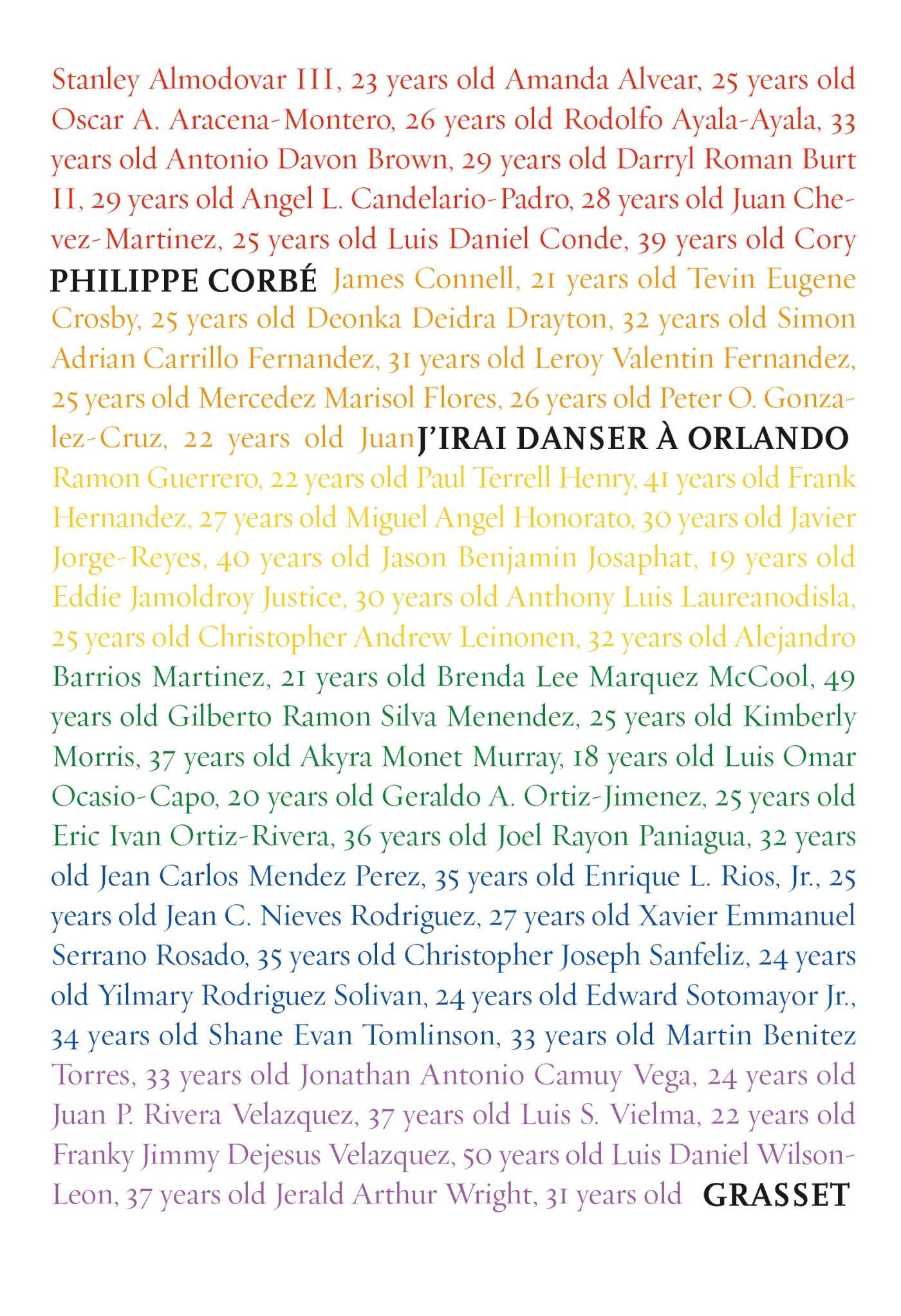 J'irai danser à Orlando par Philippe Corbé