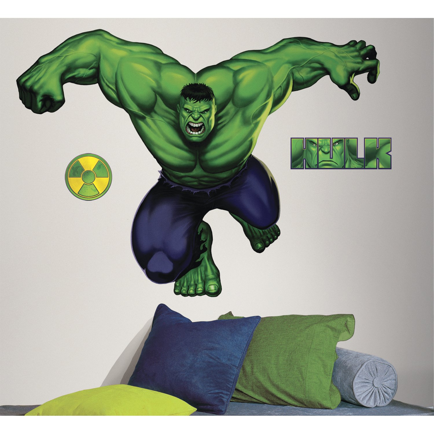 Roommates rmk1484gm hulk peel stick giant wall decal wall roommates rmk1484gm hulk peel stick giant wall decal wall decor stickers amazon amipublicfo Image collections