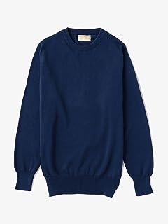 Cotton Crewneck Sweater 1113-343-4154: Navy