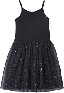 product image for City Threads Girls Princess Tutu Dress with Sparkle Tulle Bubble Lined Skirt, Made in USA