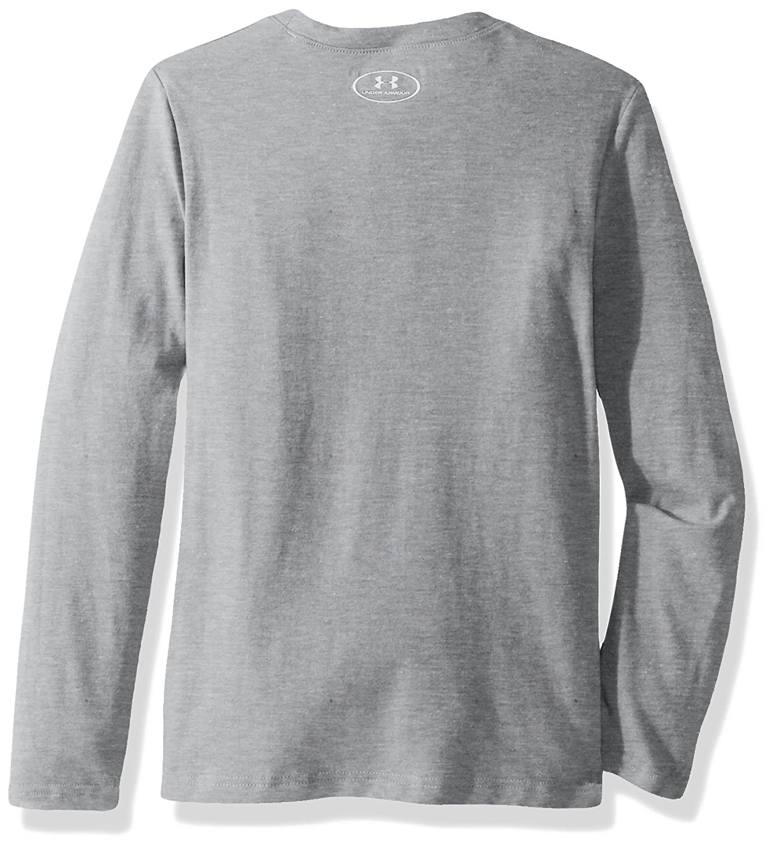 Under Armour Boys Crossbar Logo Long Sleeve t-Shirt