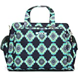 JuJuBe Be Prepared Travel Carry-on/Diaper Bag, Classic Collection - Moon Beam
