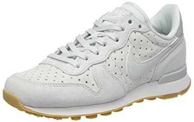finest selection fcdff ffcfa Nike Internationalist Premium, Sneakers Basses Femme, Gris Grau, 36.5 EU