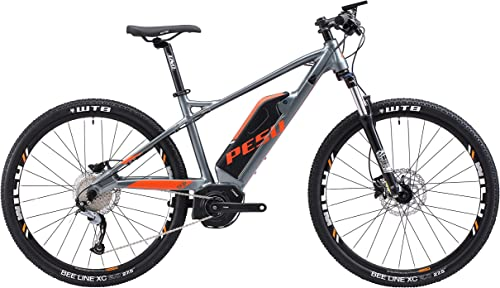 PESU Monster 350W Electric Mountainbike with Fastest Response Motor, Long Range Battery, Front Suspension, M3000 Variable Speed System