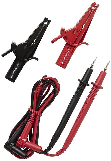 Amazon.com: Amprobe TL35B - Cuerdas de prueba con pinzas de ...