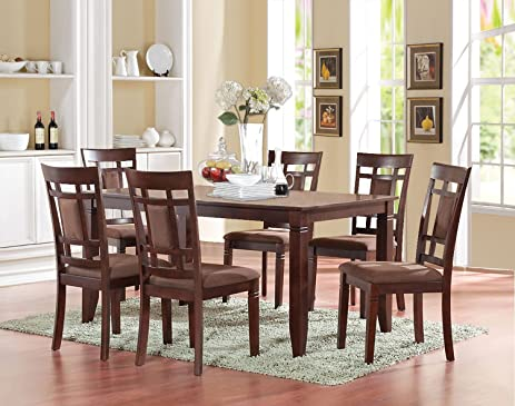 Amazon.com - ACME Furniture 71160 Sonata Dining Table, Cherry - Tables