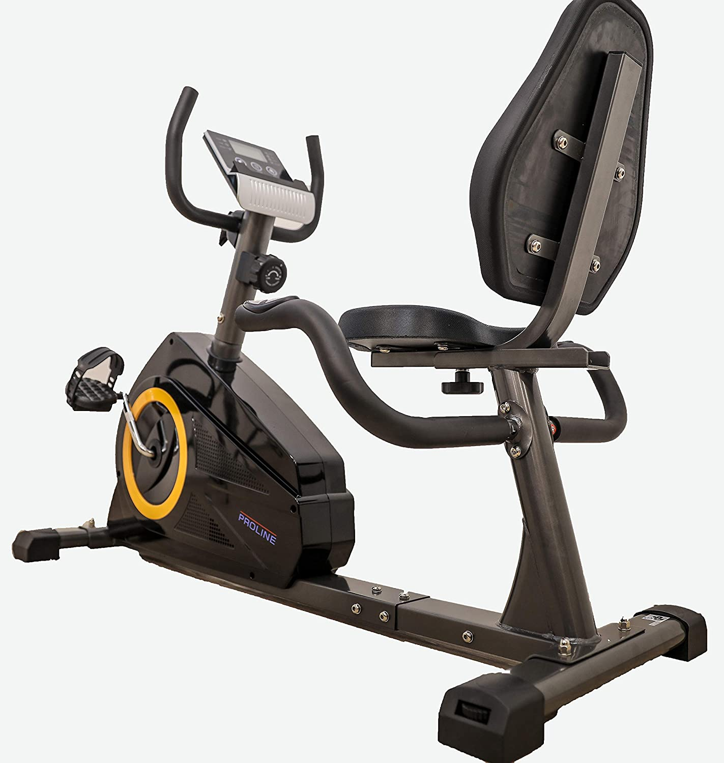 Proline Fitness 335L Fitness Recumbent Bike for Exercise with 5kg Fly Wheel Weight
