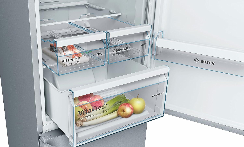 Bosch Kühlschrank Vitafresh : Bosch kgn39xi4b kühl gefrier kombination gefrierteil unten a
